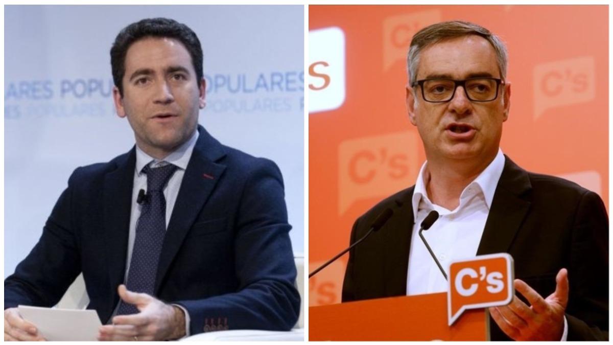 Teodoro García Egea y José Manuel Villegas.