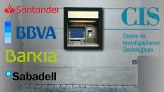 La banca señalada por el CIS