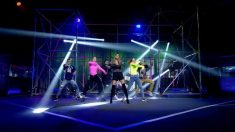 Lara Álvarez mostró sus dotes como bailarina en 'GH VIP 2018'. (Foto: Telecinco)