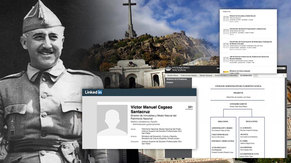 Patrimonio Nacional nombró al alto cargo que firmó el expediente de exhumación de Franco un domingo