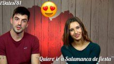 Raúl y Erica se irán de fiesta por Salamanca tras pasar por 'First Dates'