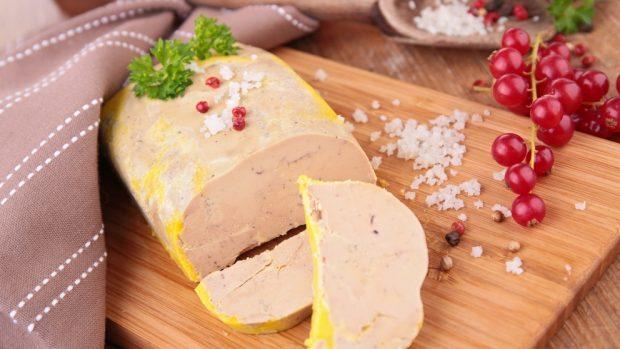 Receta de pastel de patata con foie