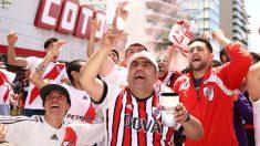 Aficionados de River Plate. (Getty)