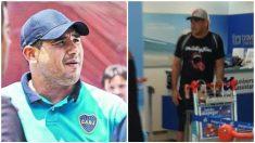 Maxi Mazzaro, barra brava de Boca Juniors. (La Nación)