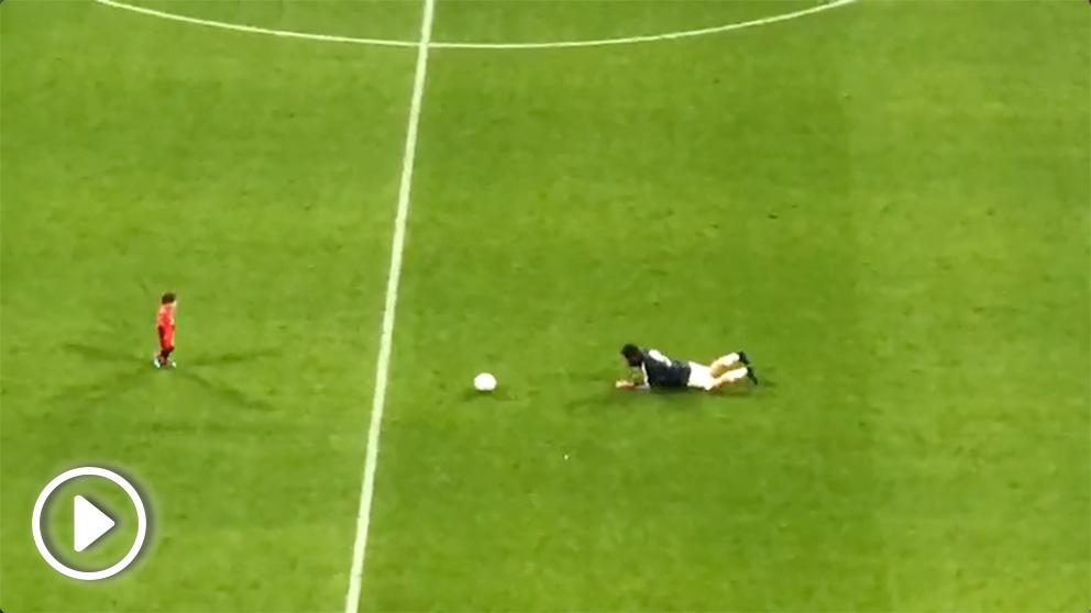 Isco Alarcón fue coreado por el Bernabéu al término del partido con el Melilla.