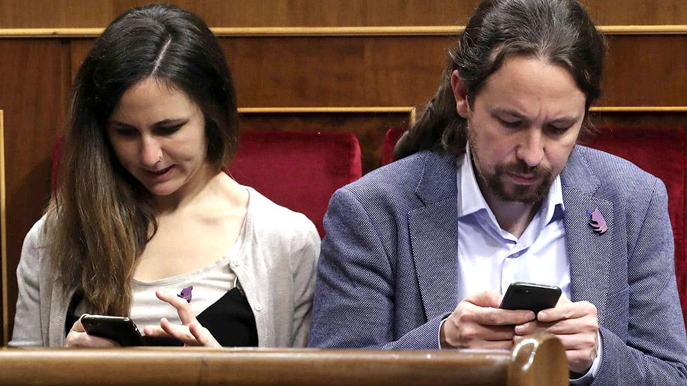 Pablo Iglesias, en el cuarenta aniversario de la Constitución en el Congreso. (Foto: EFE/Zipi)