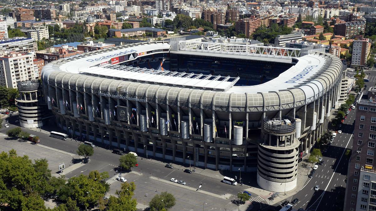 El tiempo respetará la final de Copa Libertadores que se disputará en el Santiago Bernabéu (AFP).