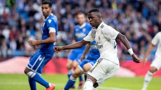 La insistencia de Vinicius tuvo premio: gol y asistencia ante el Melilla