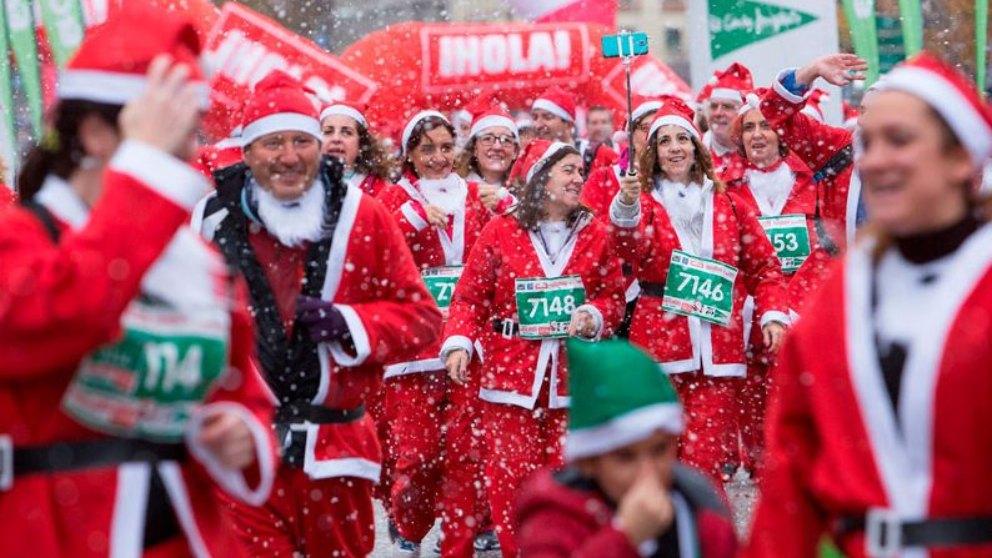 La inscripción a esta carrera incluye el traje de Papá Noel