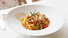 Receta de Espaguetis con conejo