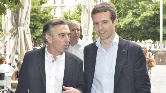 Casado aupará la candidatura de Beamonte en Teruel como presidente de Aragón