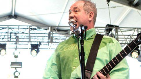 Pete Shelley en una imagen de 2012 (Foto: AFP).