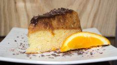 Receta de bizcocho de chocolate y mandarina