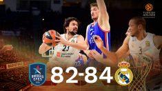 El Real Madrid gana al Anadolu EFES.