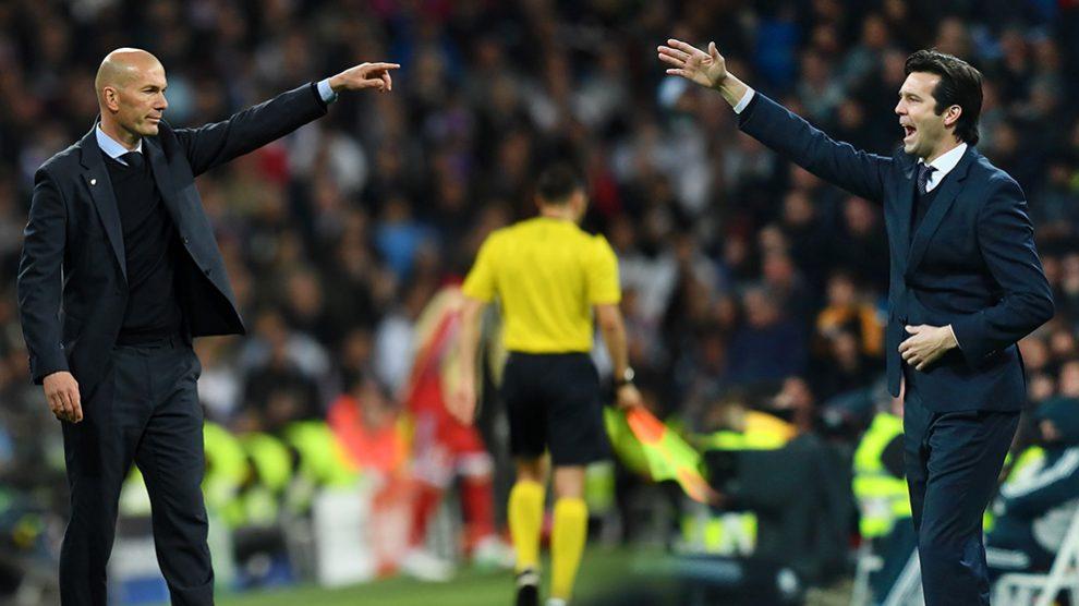 Solari enamora al vestuario del Real Madrid.