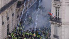 Imagen de las protestas de los 'chalecos amarillos' en París (Foto: AFP).