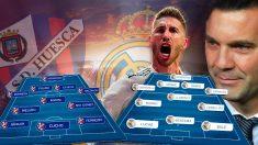 El Real Madrid vuelve a un campo pequeño tras el descalabro en Eibar.