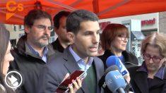 Nacho Martín Blanco, diputado de Ciudadanos.