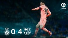 Leo Messi conquistó Cornellá.