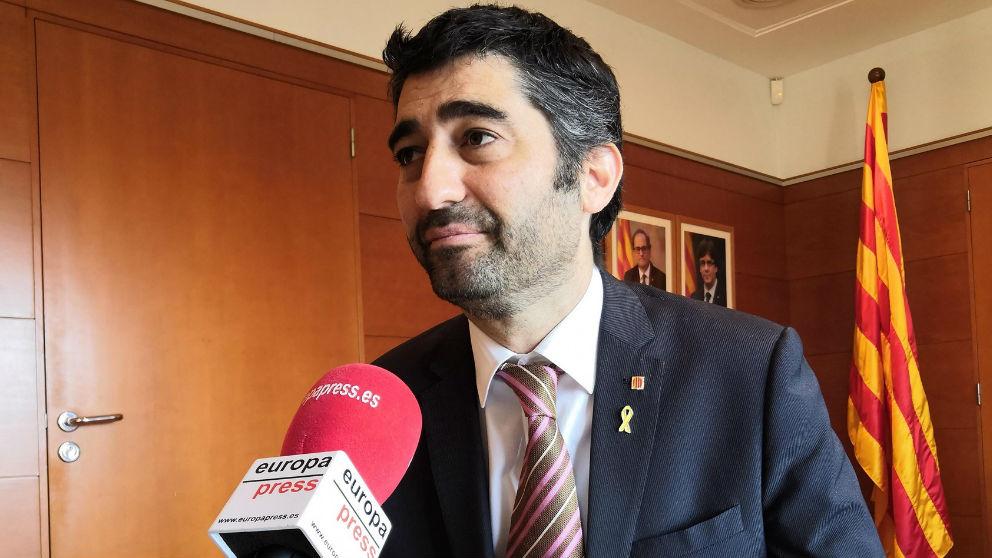 El conseller Jordi Puigneró. Foto: Europa Press