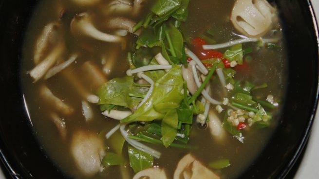 sopa thai de coco