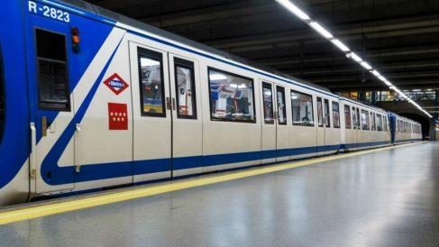 Un tren del Metro de Madrid. Foto: Europa Press