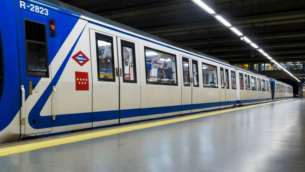 Un tren del Metro de Madrid. Foto: Europa Press