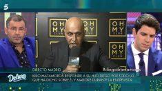 Kiko Matamoros responde a su hijo en 'Sábado Deluxe'