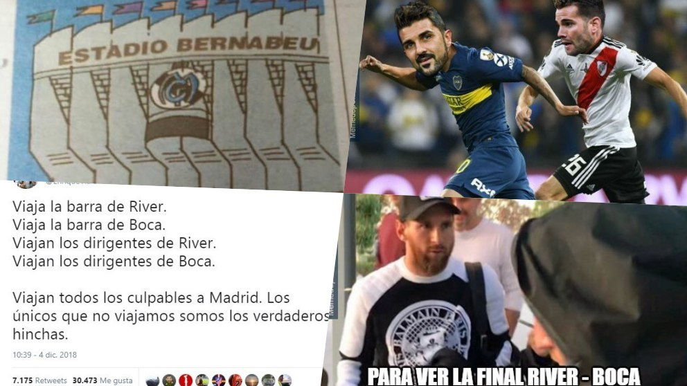 Los mejores memes del River – Boca.