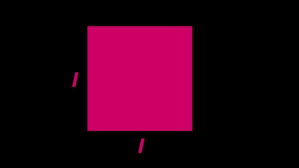 El perímetro de un cuadrado se puede calcular fácilmente
