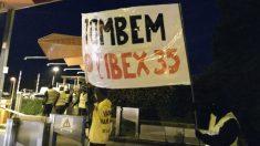 Los CDR abren las barreras de peaje en Barcelona