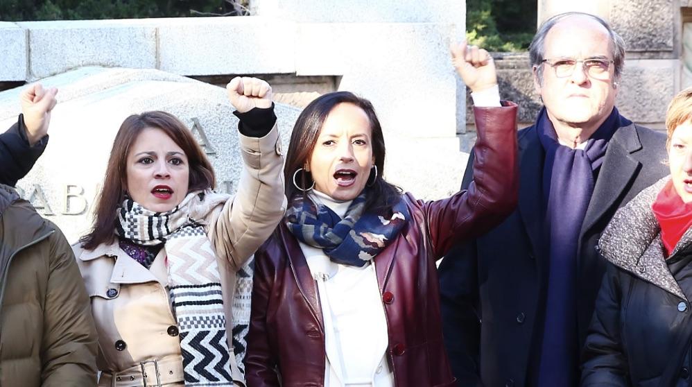 Adriana Lastra, Beatriz Corredor y Ángel Gabilondo (Foto: PSOE).