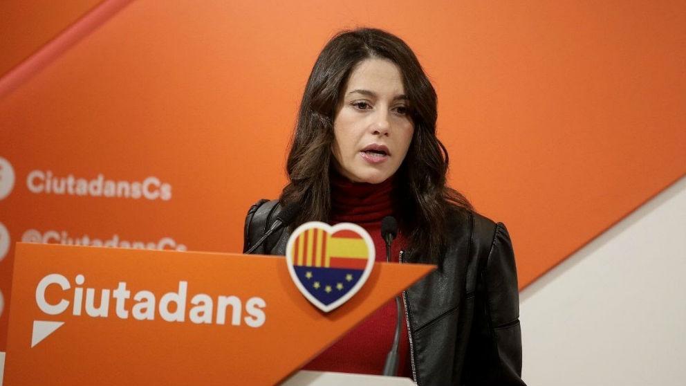 Inés Arrimadas. (Foto: Europa Press)