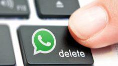 Borrar un mensaje de WhatsApp es posible aunque ya lo hayas enviado