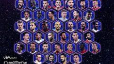 Candidatos al Equipo del Año de la UEFA.