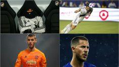 Isco, Ibrahimovic, De Gea o Hazard podrían abandonar sus clubes este invierno.