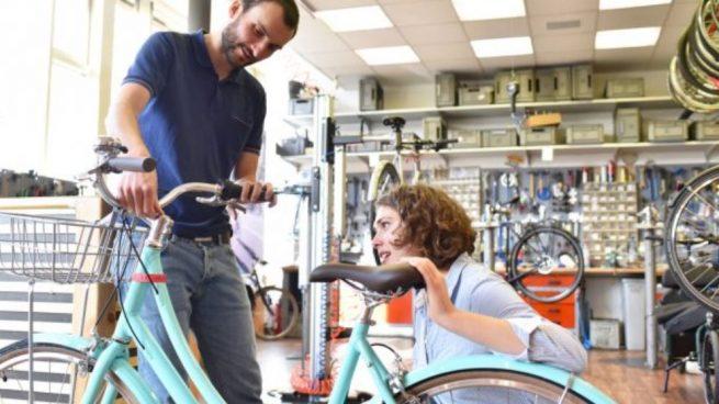 talla de una bicicleta