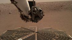El robot InSight capta el sonido de Marte