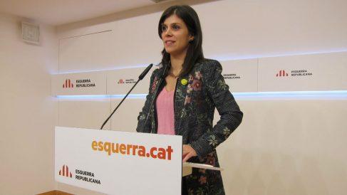 La portavoz de ERC, Marta Vilalta. Foto: Europa Press