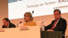 Esperanza Aguirre durante el acto (Fundación Valores y Sociedad).