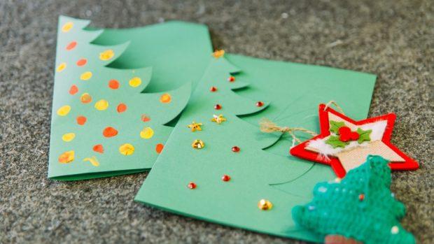 Hacer Postales Navidenas Fotos.Navidad 2018 Como Hacer Felicitaciones De Navidad Originales