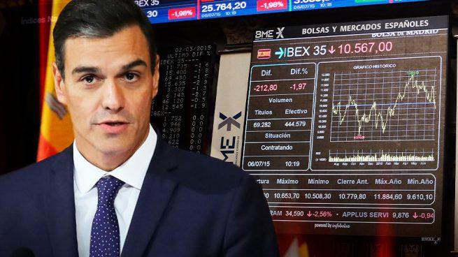 El Ibex acaricia mínimos anuales: pierde 79.300 millones desde que Sánchez llegó al poder