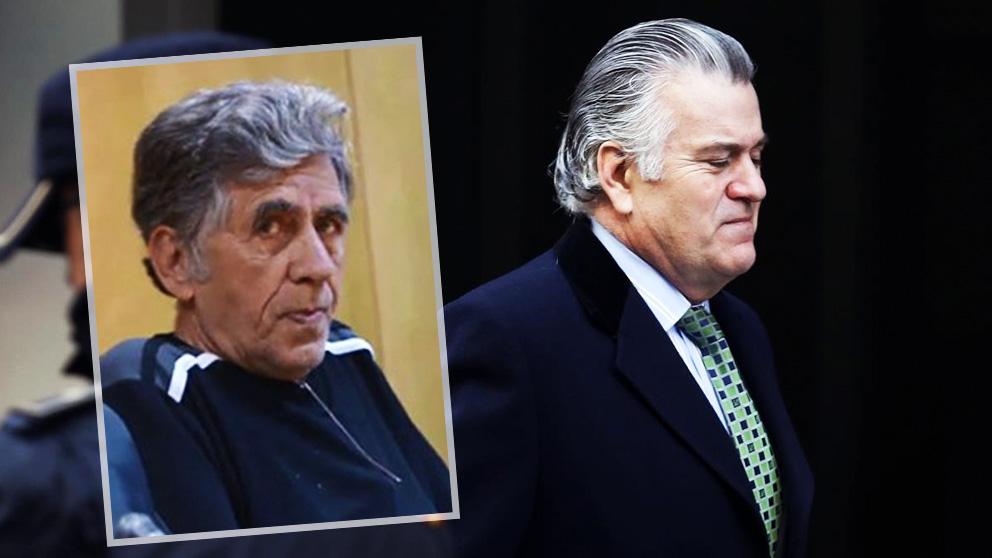 Enrique Olivares y el ex tesorero del PP Luis Bárcenas.