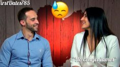 Jesús no ha sabido conquistar a Andrea en 'First Dates'.