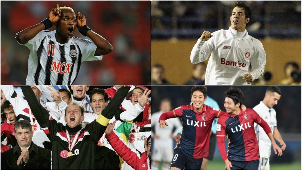 Jugadores que se convirtieron en estrella en el Mundial de Clubes.