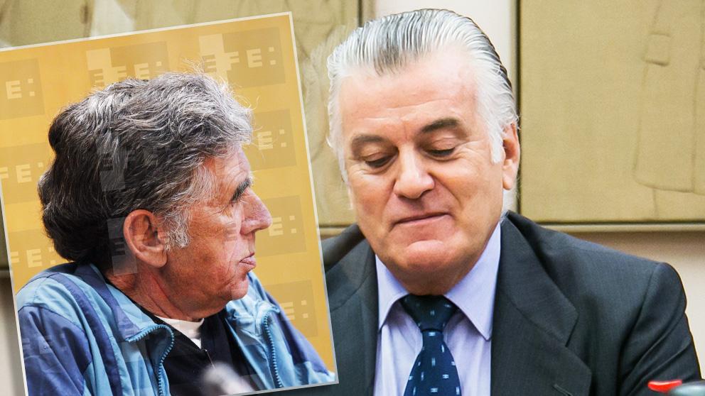 El secuestrador Enrique Olivares y el ex tesorero del PP Luis Bárcenas.