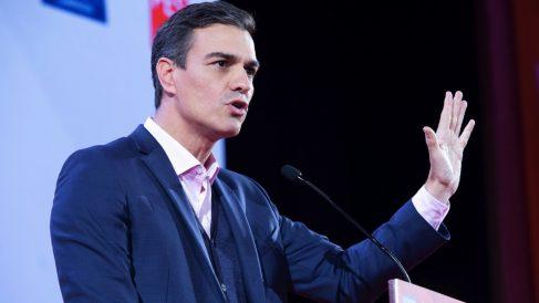 El presidente del Gobierno, Pedro Sánchez. (Foto. PSOE)