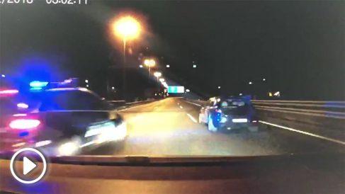 La Policía detiene a unos atracadores tras una espectacular persecución.