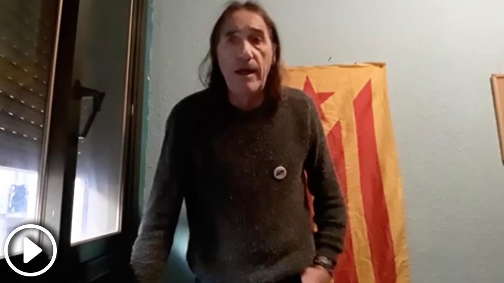 Frederic Bentanachs, uno de los fundadores de la organización terrorista 'Terra Lliure', insta a «tomar y ocupar el Parlament» el 21-D
