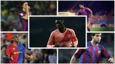 Dembélé, el último díscolo en llegar al Camp Nou.